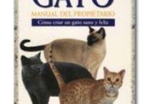 Gatos - Mundo Gatuno - Libros sobre Gatos - Mascotas - Cats - Cuidados del Gato / Libros sobre gatos