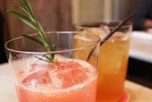 Drinks / Healthy smoothies, fun cocktails and how you can make them at home. For the older kids. 21+