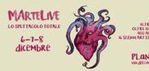 MArteLive2016-Serata conclusiva / Appuntamento per la serata coclusiva al Planet di Roma 8 dicembre 2016!