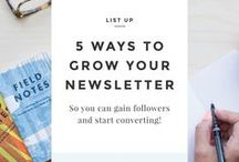 Email Marketing Tips / Email marketing tips, how to grow your email marketing list, how to increase your email marketing list, email marketing followers