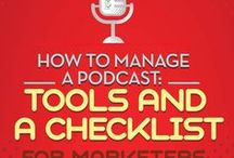 Podcast Tips / how to start a podcast, podcast tips, grow your following with a podcast, podcast marketing