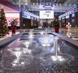 Fountains in Shopping Malls / Fountains  and  water  features  created  and  designed  to  provide  high-impact,  very  pleasant, relaxed and refreshing areas, converting them into meeting points and extending the stay of  the visitors.