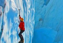 Bächli Bergsport - IceClimbing / Snow, cold nights - is this the end of the climbing season? NO! The frozen waterfalls and rocks with some crazy looks are just waiting to get climb!  We have all equipments you need for this adventure!