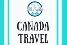 Canada Travel / Travel guides and inspiration for Canada including road trips, best places to visit in Canada, city guides, vacation spots, travel itineraries, day trips and more. Everything you need to organise your next trip Ontario, British Colombia including Vancouver, Quebec, Alberta, Nova Scotia, New Brunswick and more!