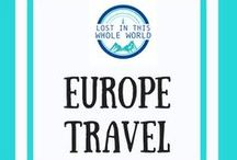 Europe Travel / One stop shop for all things travel in Europe. Travel itineraries, destination guides and tips for visiting Europe including France, Czech Republic/Czechia, Germany, Austria and more. Perfect if you are wondering where to go, what to see or need tips on road trips and train travel around Europe.