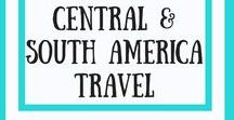 Central & South America Travel / Travel guides, itineraries and tips for visiting Central America including Nicaragua, Honduras Guatemala, Panama, Costa Rica, Belize and El Salvador as well as South America destination guides and travel itineraries for Brazil, Colombia, Chile, Ecuador, Peru, Argentina and more.