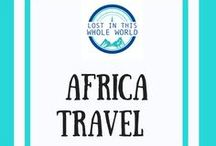 Africa Travel / All things travel in Africa including travel guides, inspiration and best places to visit in Africa, city guides, vacation spots and travel itineraries for South Africa, Morocco, Kenya, Mozambique and more.