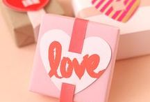 Paper Gift Bags for St. Valentine´s Day / Let´s create memorable gift for your love!