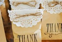 Wedding Favor Bags / Finding for a cute ideas for your wedding? So let´s find some inspiration!