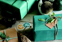 Craft Paper Gift Wraps / Fresh tips for DIY Gift wrapping