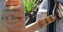 Getreide & Mehl ~ Biobauer / Backen wie zu Oma's Zeiten, naturbelassene Mehle, fränkisches BIO-Getreide und vieles mehr.