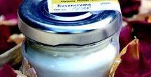 Creme & Salbe ~ Naturkosmetik / Verwöhnprogramm für die Haut, Schutz vor Austrocknung und Irritation auf Naturbasis