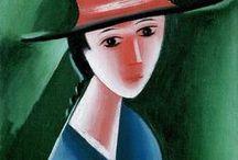 cubism - Josef Čapek / Emil Filla, Bohumil Kubišta, Josef Čapek, Antonín Procházka, Václav Špála