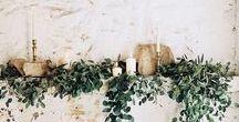 Wedding - Pantone Greenery 2017 / Wedding inspired by Pantone's colour of 2017 'Greenery'