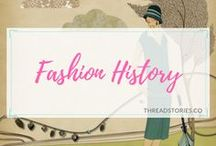 Fashion History / A close look at the lives of those people behind the brands and fashion techniques. Fashion, textiles, clothes, accessories, garments, sewing, history, designers, styles, brands.