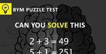 IQ Test : Number Puzzles / This board mostly contains contents  that will test your IQ. Most of the puzzles looks easy but they may have more than one solution. Try to have a close look at the Number Puzzles and #comment your answer also.