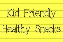 Healthy Kid Snacks / Healthy snacks for the littles in your life!
