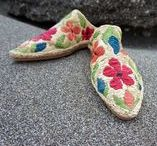 handcrafts / handmade shoes, bags, belts, boxes and baskets