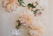 Fabric Flowers / by Sheri Nelson