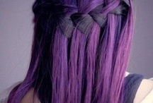 Crazy hair don't care / Basically crazy candy hair colors(I love purple hair ) / by Nuvia Sargeant-Sargeant