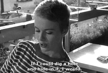icon: jean seberg / by Katie Smith