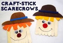 Pumpkins/Scarecrows for Preschool / by Kim Pimental