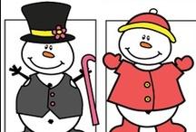 Snow/Snowmen/Mittens for Preschool / by Kim Pimental