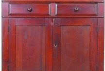 Primitives Antiques Olde Red / Primitives Antiques in olde red paint both interior and exterior / by Trish Robinson