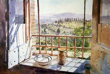 Art - Windows & Doors / Windows & Door paintings