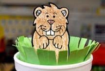 Groundhog Day for Preschool / by Kim Pimental