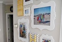Photo wall collages / by Kim Fournier