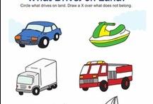 Transportation for Preschool / by Kim Pimental
