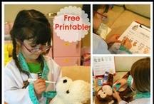 Dramatic Play for Preschool / by Kim Pimental