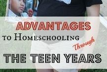 Homeschooling Teens / Homeschooling helps, planning, and ideas for teaching a high school aged child. / by Heather Duncan