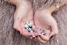 Sparkle + Shine / Crystal embellished Furs, sparkles + rhinestones / by Fur Hat World