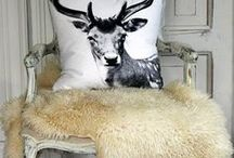 Cabin Retreat / Relax and indulge in the basic comfort and simplicity of fur. Sheepskin slippers, fur throws, and high quality hats--all the best for your weekend getaway or cottage retreat! / by Fur Hat World