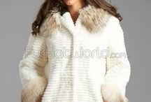 Layered And Tiered Fur Accessories / Tiered and layered fur accessories and accents. / by Fur Hat World