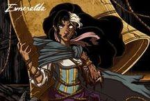 DISNEY : Esmeralda