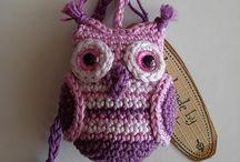 Crochet - keychains