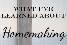 Homemaking / by Heather Duncan