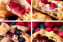 Cupcake, pie, food design ideas