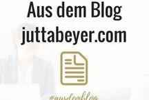Blogartikel / Hier findest du meine Blogartikel von juttabeyer.com