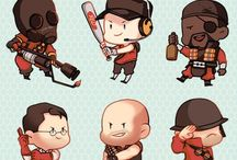 Tf2 / I don't really know tf2 but it if quite popular with the boys at school who play video games.