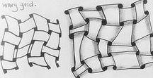 Zentangle návody / relaxační kreslení