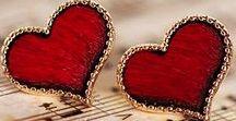 Srdíčka-Hearts / všechno srdíčkové, srdíčka malovaná, vytvořená, vykouzlená přírodou.....