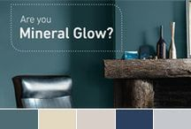 Mineral Glow Collection by Moda / A striking palette inspired by nature's mineral hues like anthracite, copper and gold. Neither too warm nor too cold, these colours create a very contemporary look.