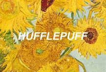 "• hufflepuff • / ""You might belong in Hufflepuff, Where they are just and loyal, Those patient Hufflepuffs are true And unafraid of toil"" #Harry Potter - House of Hufflepuff"