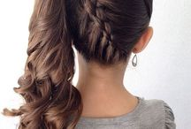Hair styles for confirmations and graduation / A variety of beautiful hair styles for kids and adults