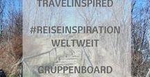 #Reiseinspiration Weltweit / Reiseinspiration Weltweit - Inspiration,Reisetipps und Insidertipps von deutschsprachigen Reisebloggern! Reiseberichte Gruppenboard für Urlaub in Europa oder Fernreisen nach Amerika, Afrika, Asien, Ozeanien oder in die Antarktis. => Um teilzunehmen, schicke eine Nachricht an kristin@travelinspired.de. Bitte jeden Pin nur einmal pinnen. Happy Pinning!  #Reiseinspiration #Gruppenboard