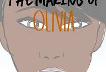 the making of Olivia / the rough drawings of Olivia